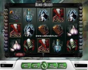 Spela på spelautomaten Bloodsuckers hos Unibet och CasinoEuro!