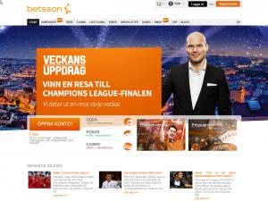 Betsson - Stort Svenskt casino