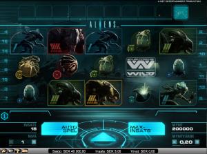 Spelautomaten Aliens, 200% i bonus och 200 freespins till nya kunder!