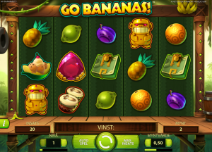 Go Bananas freespins