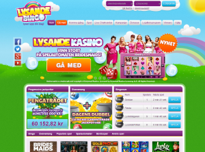 Lysande Bingo - 200 Spelautomater