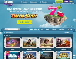 Thrills Casino - Nya erbjudanden för nya spelare!