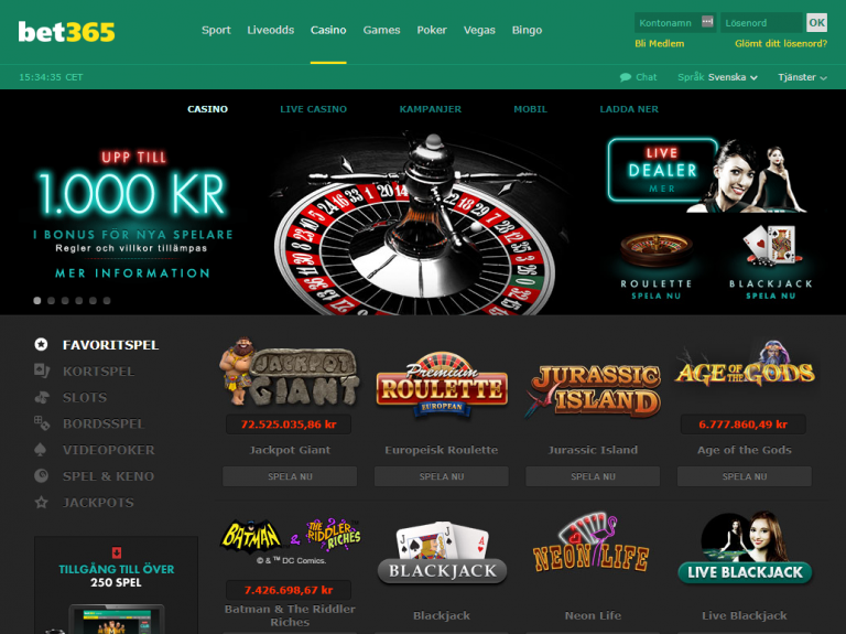 Is bet365 casino fixed