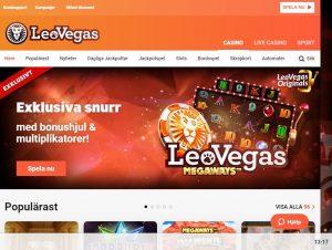 LeoVegas - Skattefria vinster